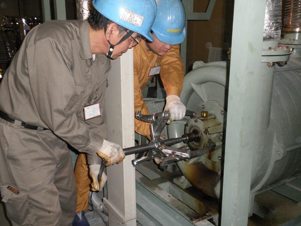 溶接ヒューム集塵設備メンテナンス