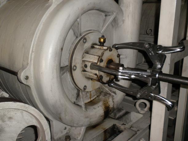 配管式掃除装置(CV)メンテナンス