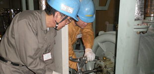 集塵設備メンテナンスのイメージ
